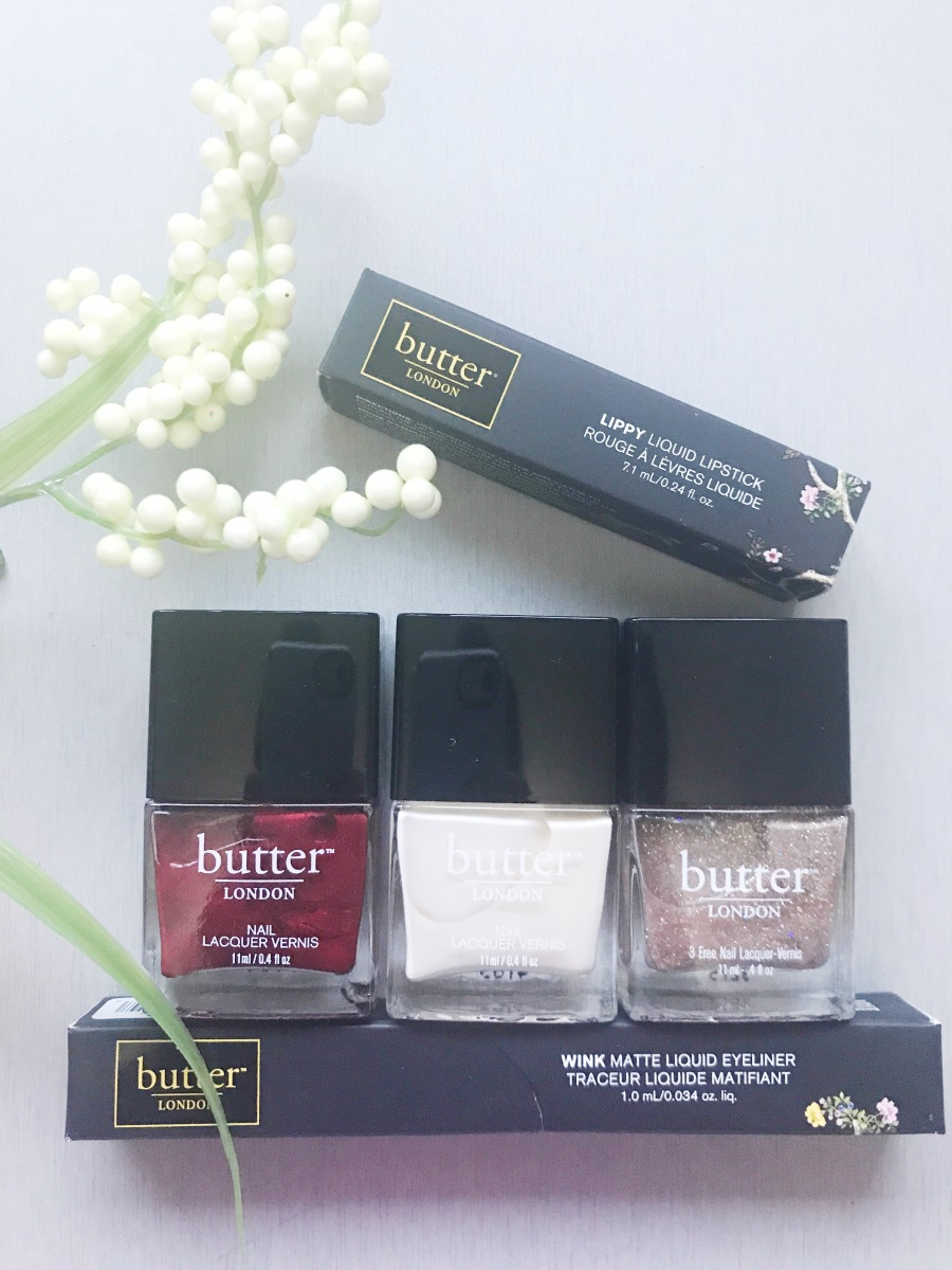 Casually Glam with butter London